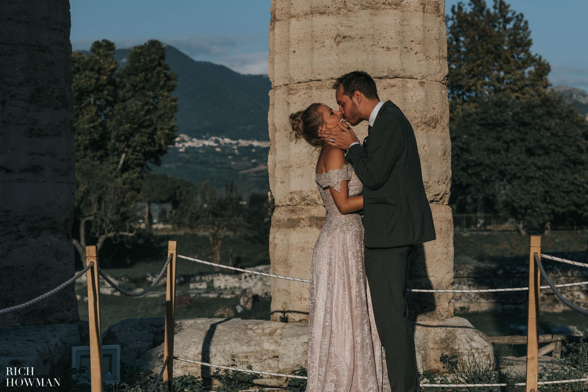Paestum Temples Wedding Photographer