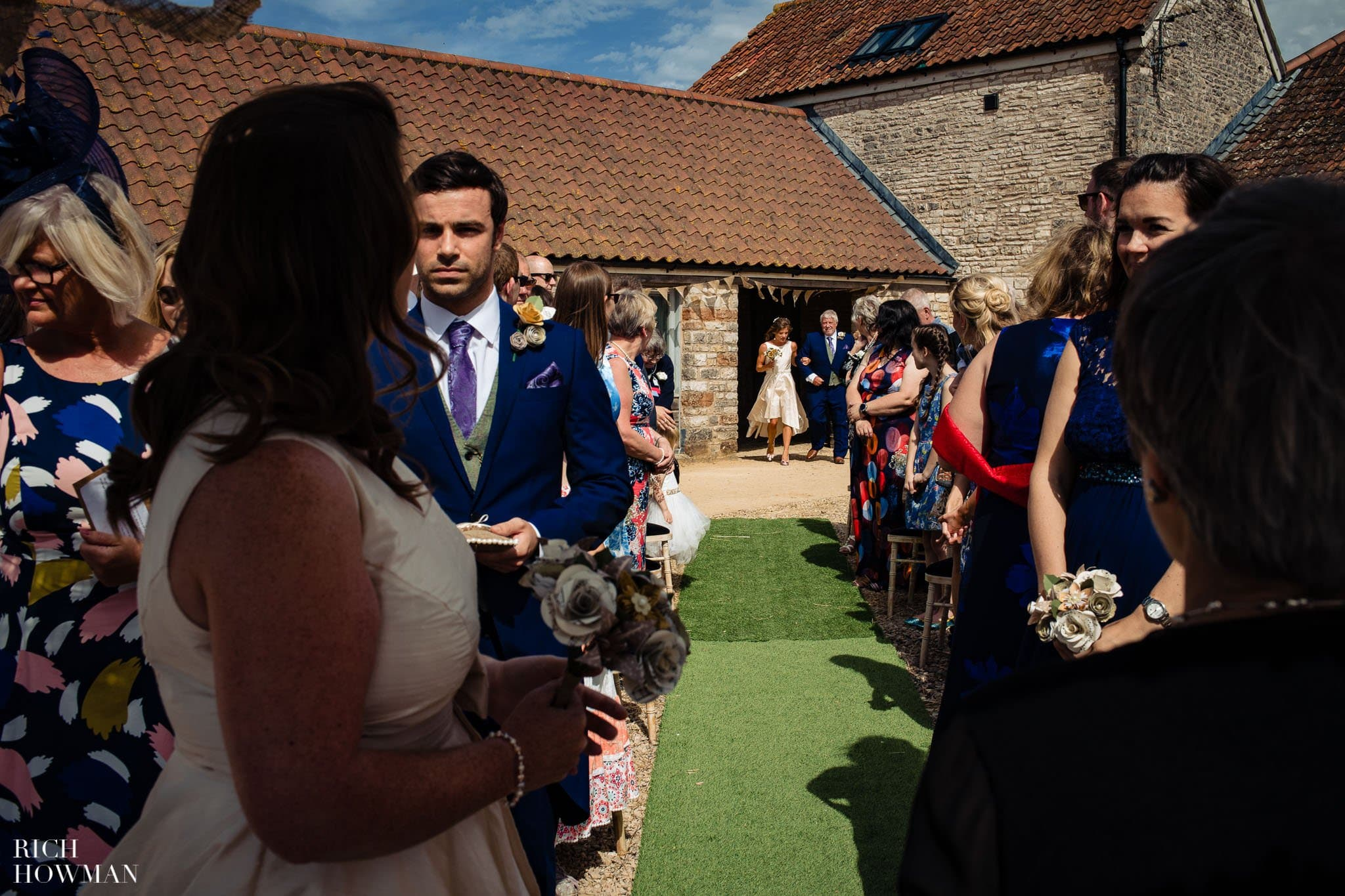 Wedding Photographers Bristol Wedding at Folly Farm