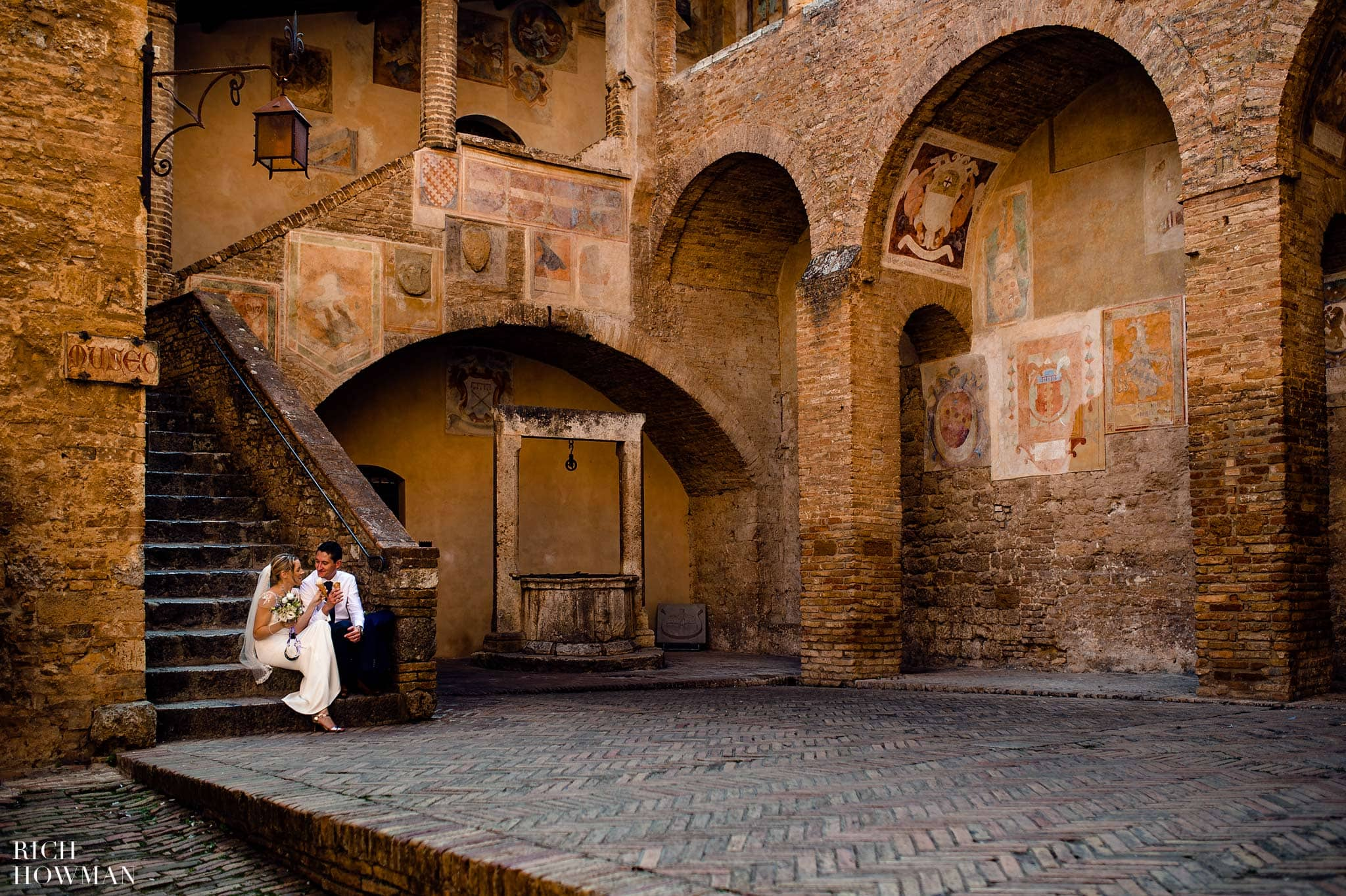 San Gimignano Wedding