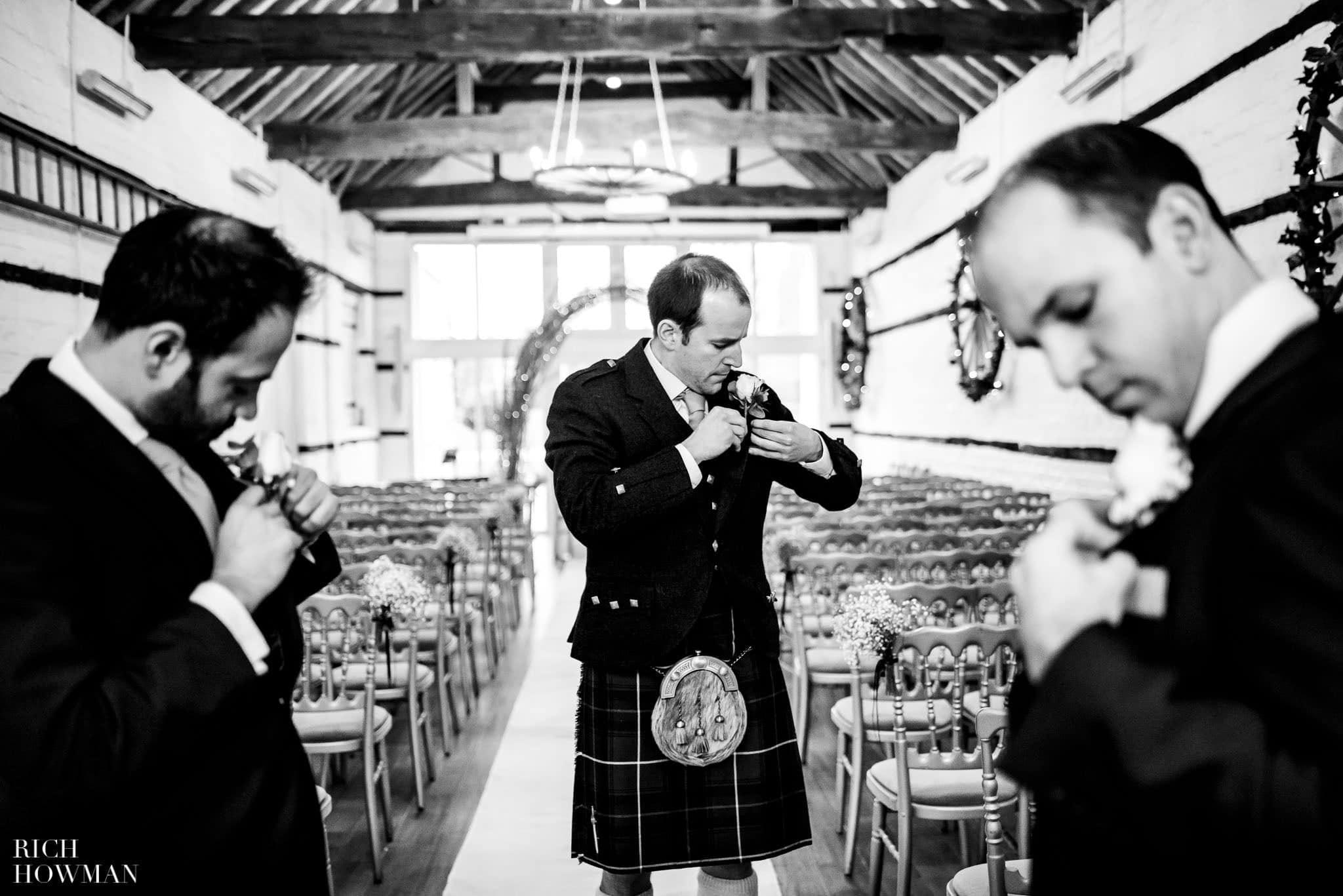 Lillibrooke Manor Photographers - Christmas Wedding 36