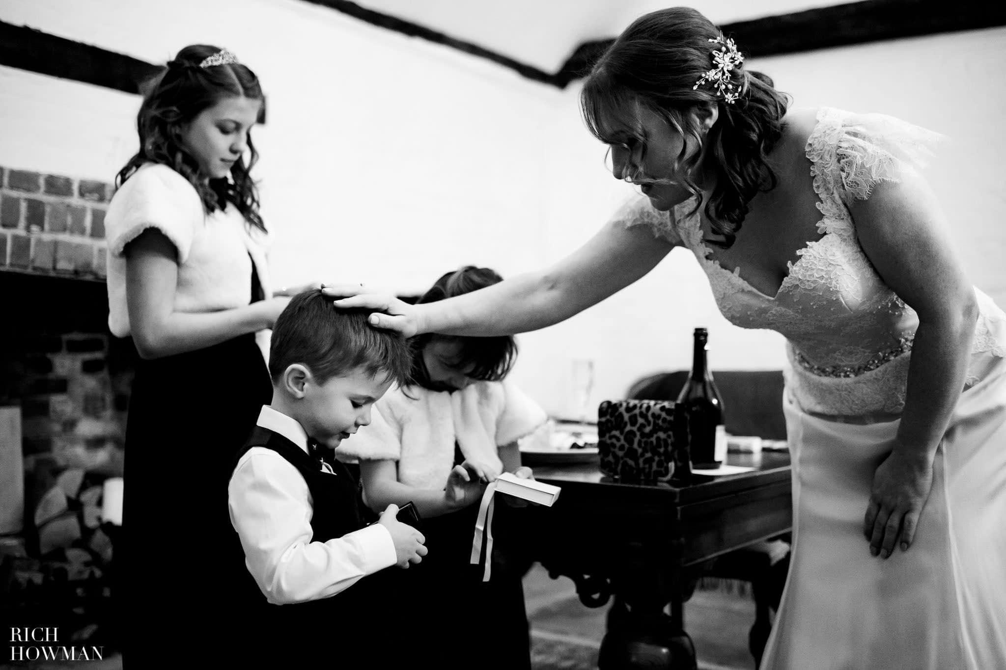 Lillibrooke Manor Photographers - Christmas Wedding 47