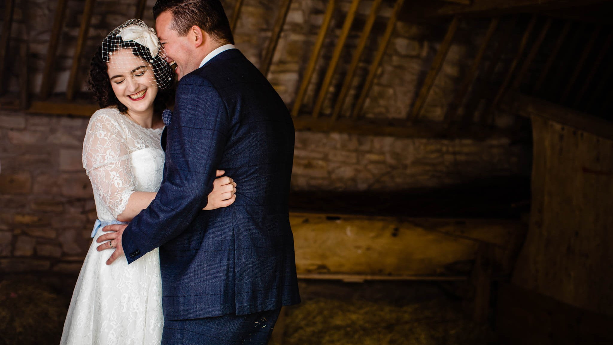 Outdoor Wedding in Bristol | Barn Wedding Photographers 1