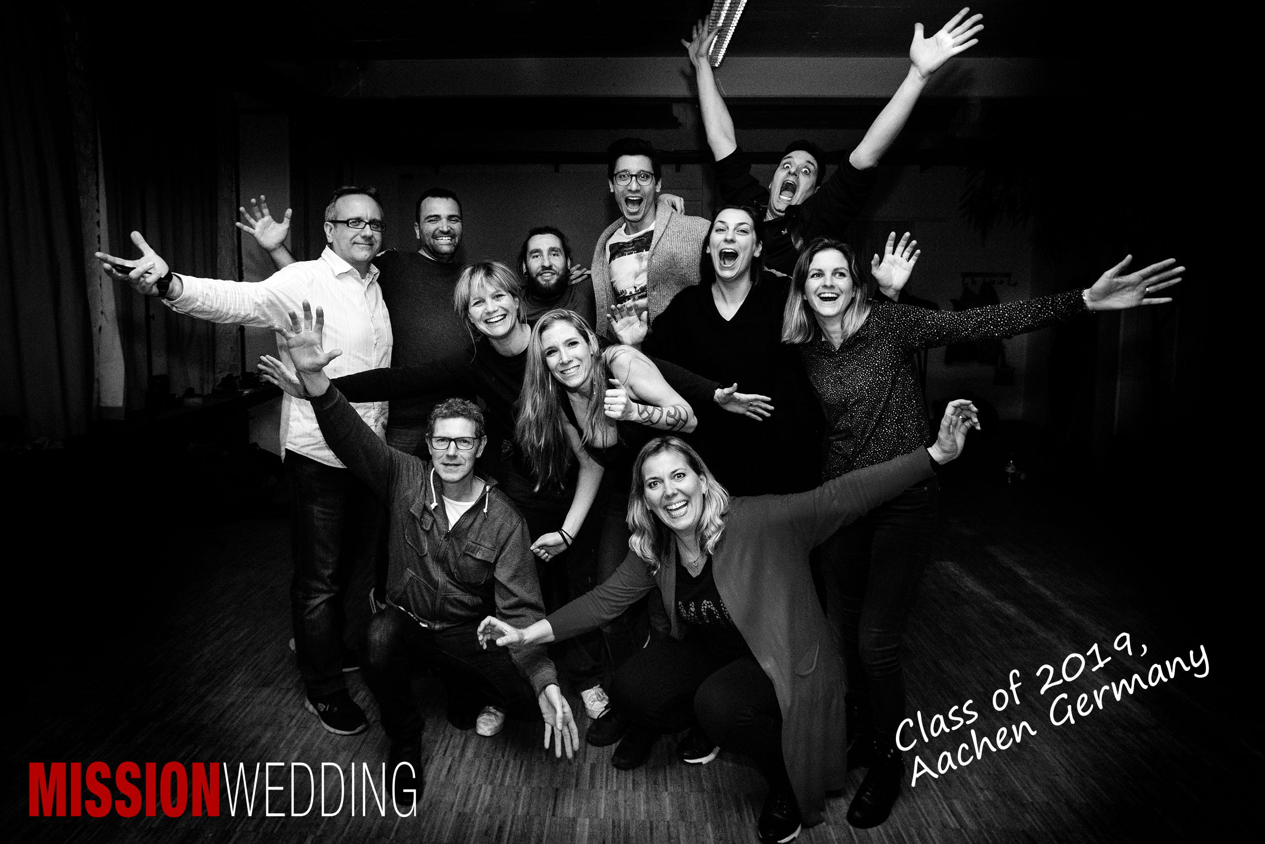 MISSION WEDDING Masterclass - Class of 2019, Aachen Germany [Photo: Rich Howman]